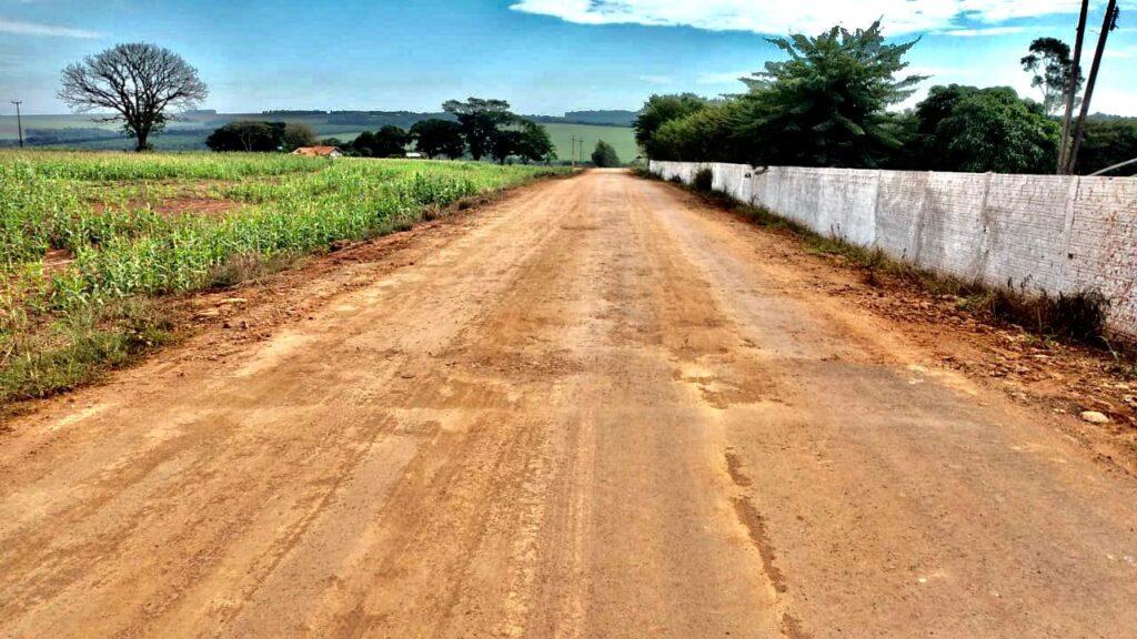 estrada picadão receberá pavimentação por Enio Verri