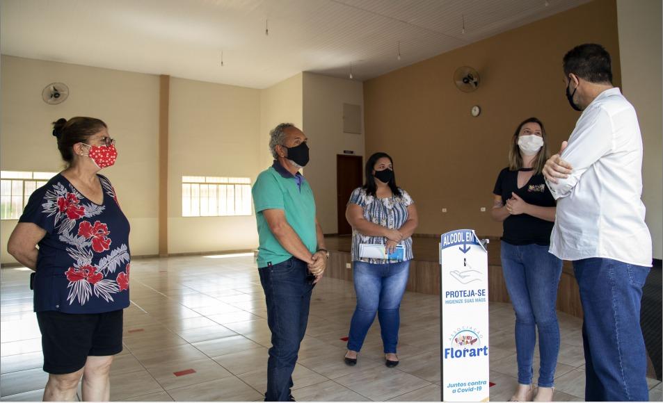 Florart e Fazenda São Sebastião são ONGs de Jandaia do Sul